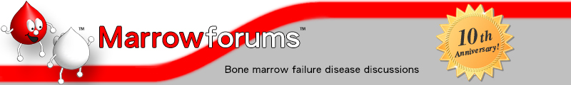 Marrowforums: discussion forums for patients of bone marrow failure diseases